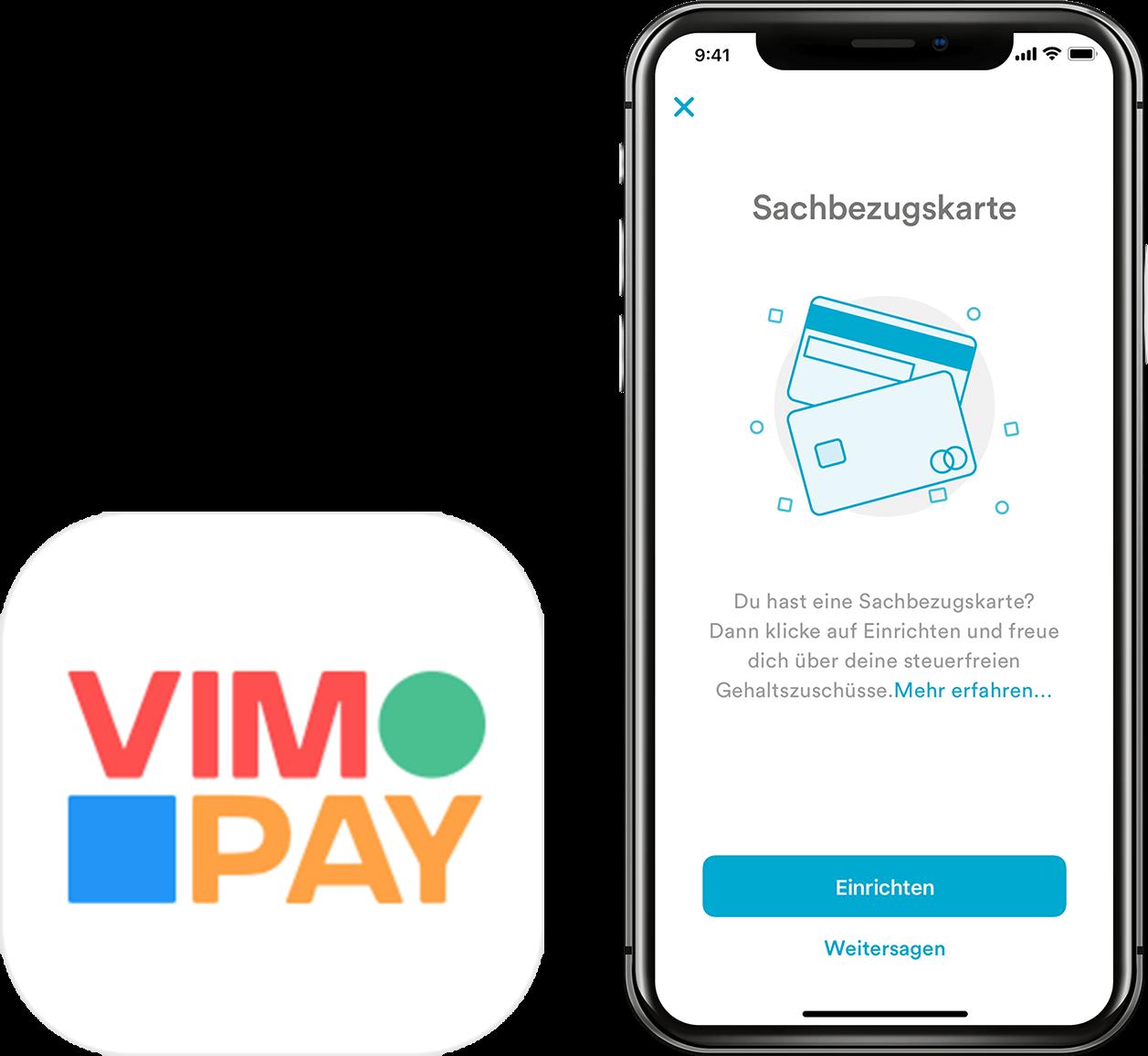 Verwaltung mit der VIMpay App